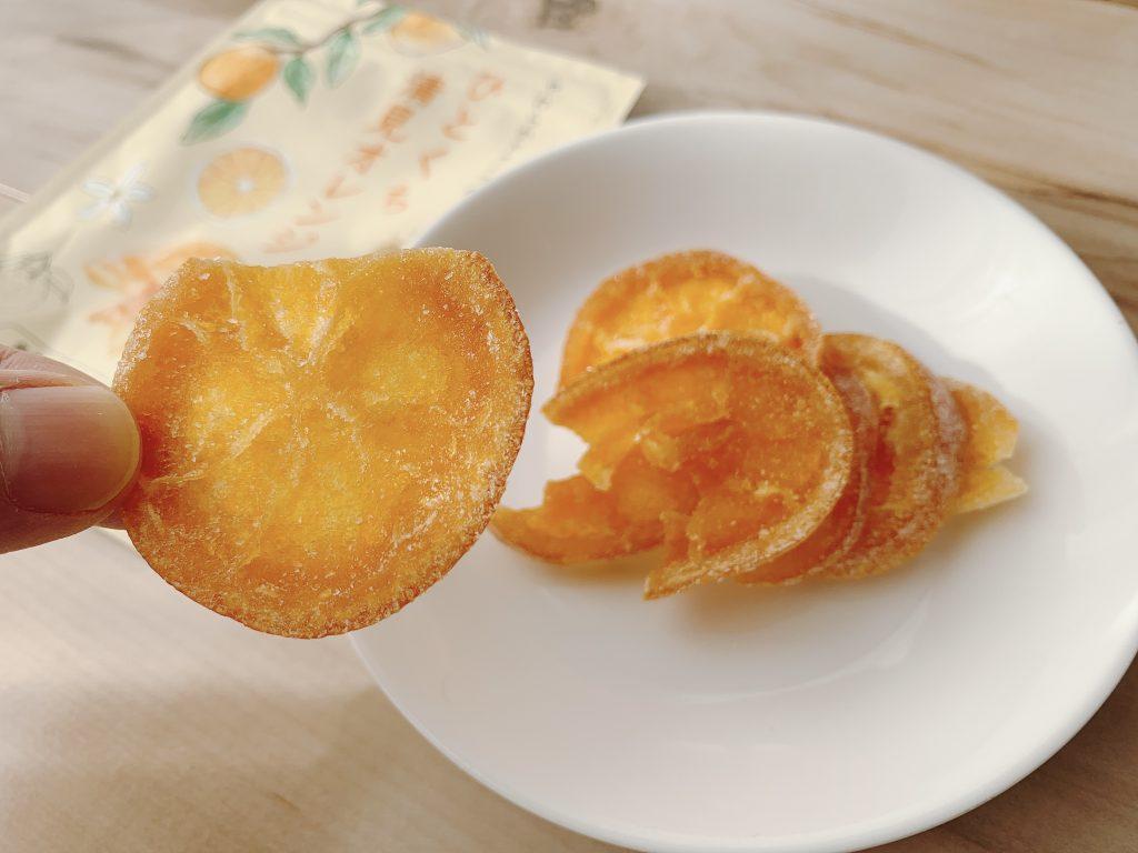ひとくち清見オレンジの香りも味も文句なし