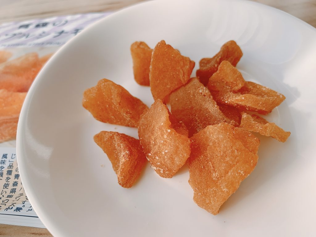 青森のアップルシナモンのやさしい食感