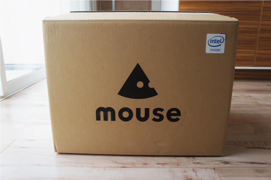 マウスコンピューターダンボール開封