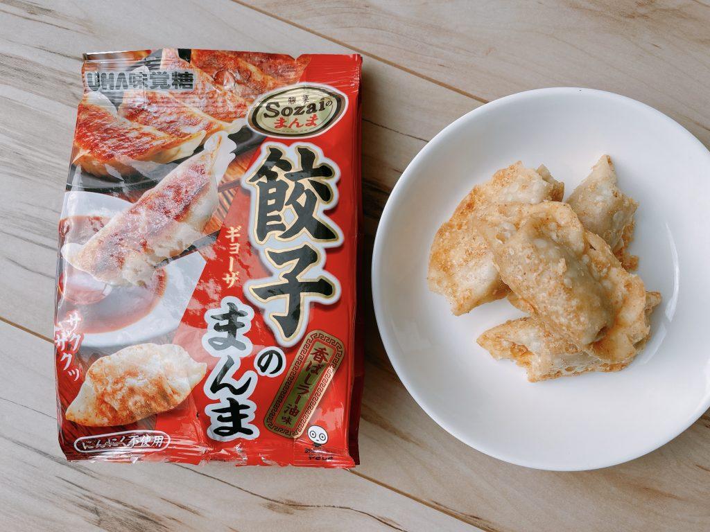 餃子のまんま-香ばしラー油味の中身