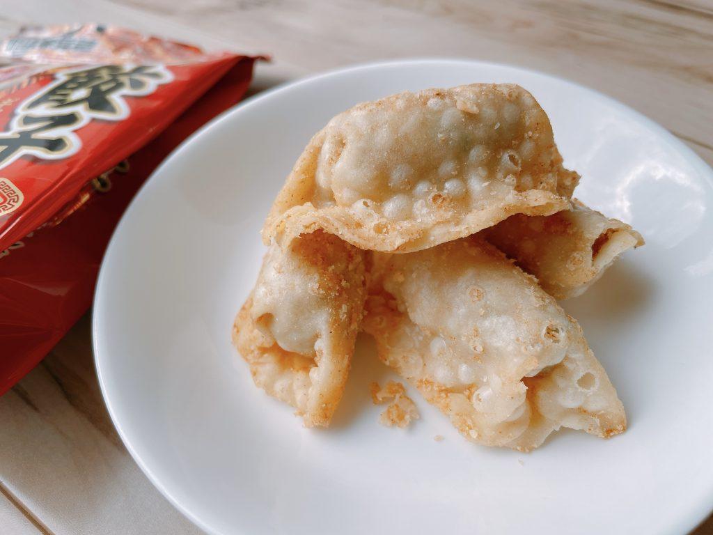 餃子のまんま-香ばしラー油味のクオリティがすごい
