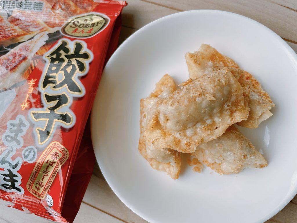 餃子のまんま-香ばしラー油味の原材料は餃子