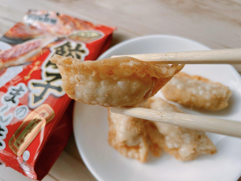 餃子のまんま-香ばしラー油味の上面