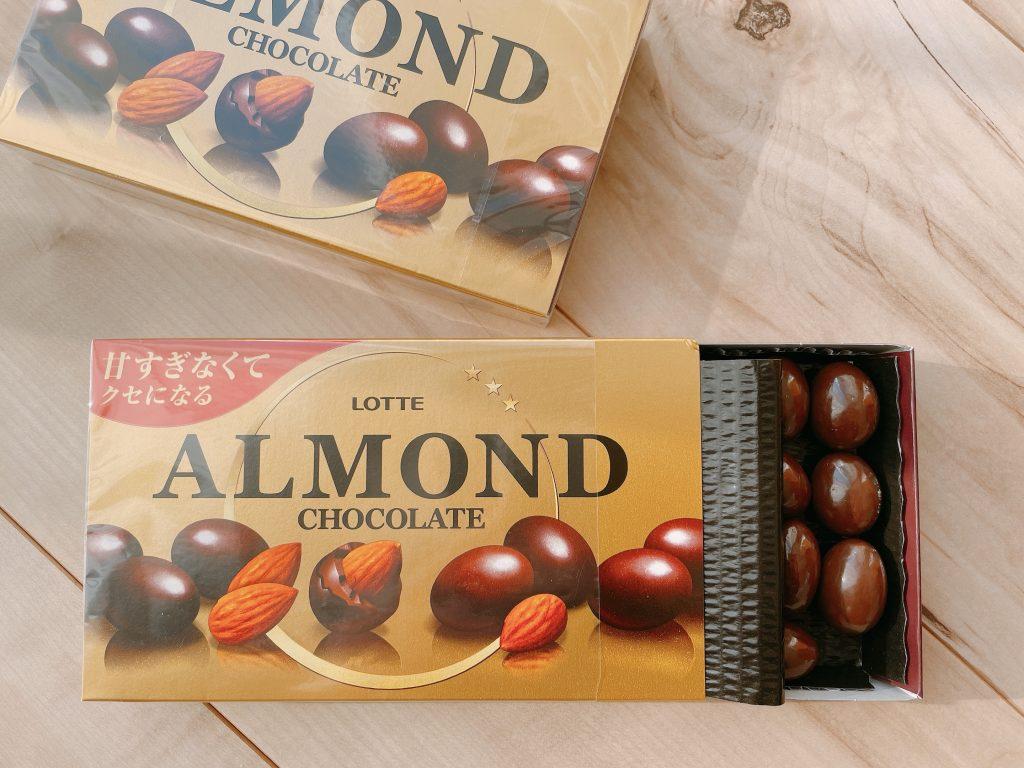 アーモンドチョコレートの中身