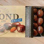 アーモンドチョコレートクリスプは食感が特徴
