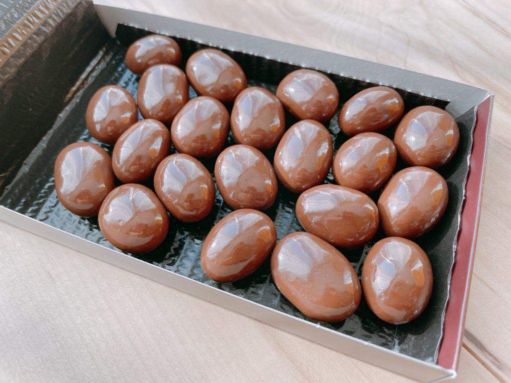 アーモンドチョコレートクリスプのおいしさ