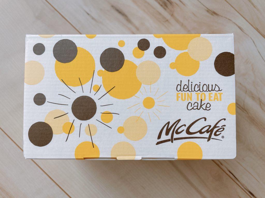 マックカフェのお持ち帰り箱