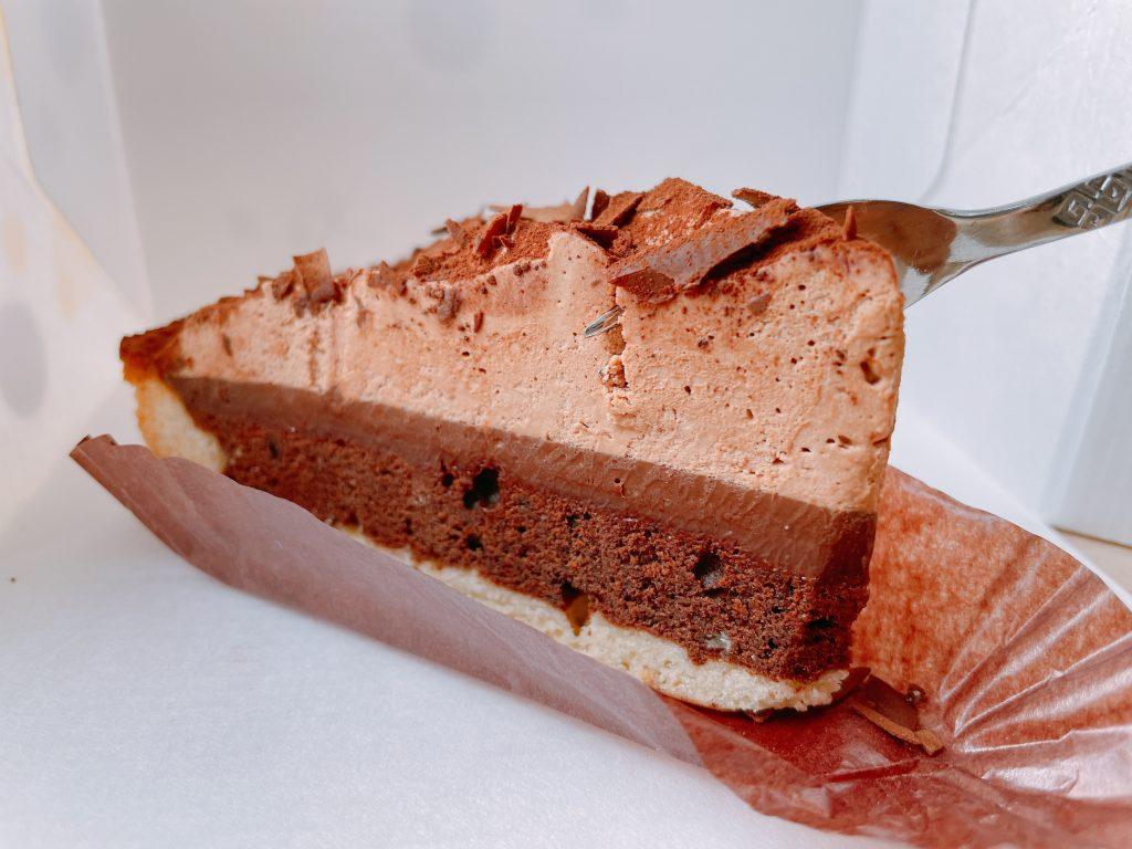 マックカフェのチョコレートタルト