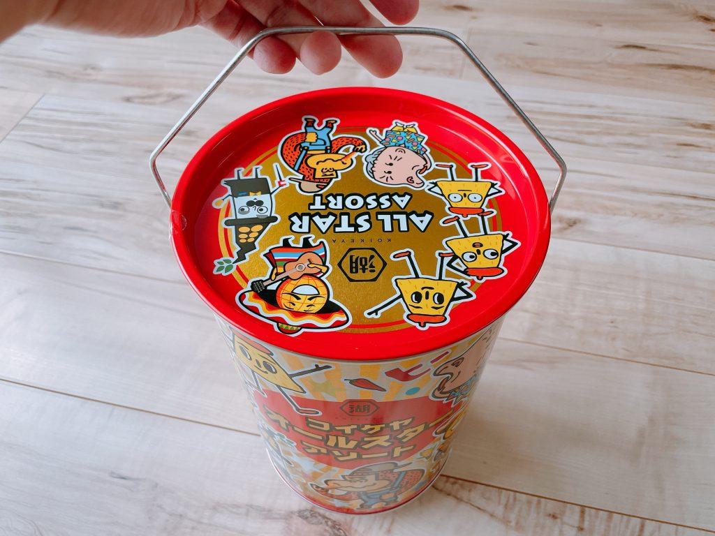 コイケヤオールスターアソート缶