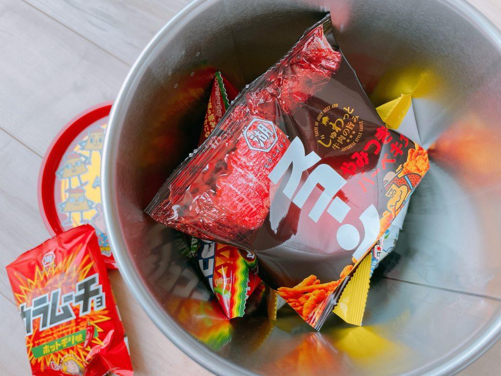 コイケヤオールスターアソート缶のスコーン