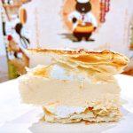 EGOAL(イーゴール)のブリュレチーズケーキは、パイ生地とチーズケーキがくっついていない