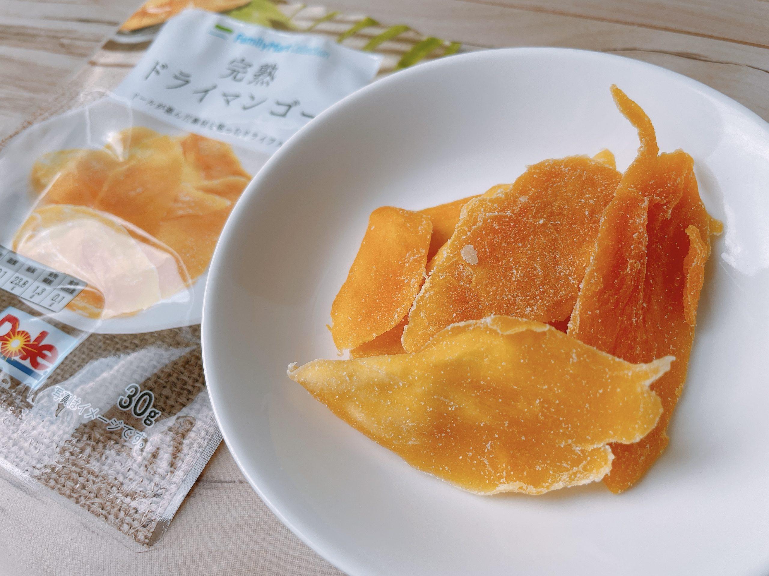 完熟ドライマンゴーの香りはとてもいい