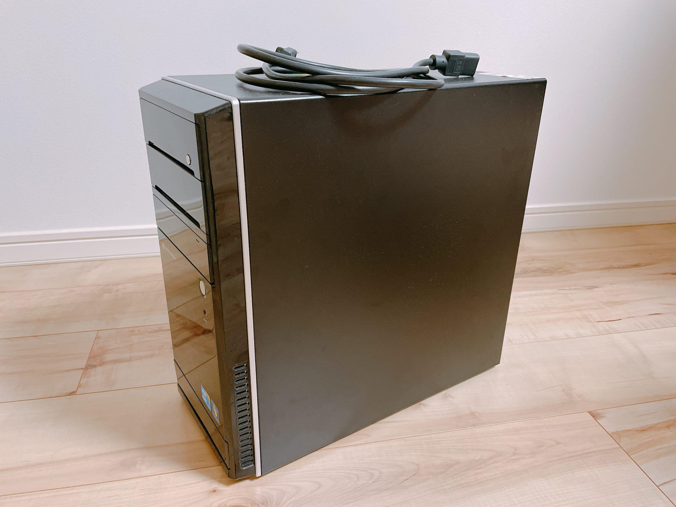 PCを買い換えるのが面倒くさいを解決