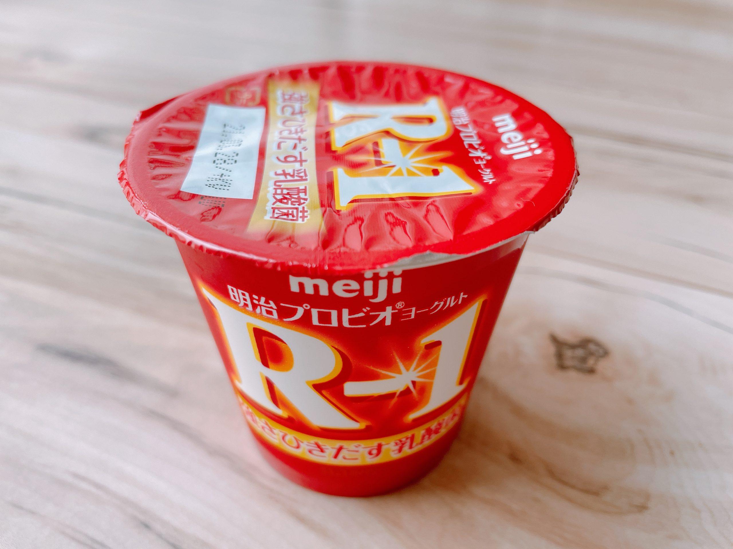 R1ヨーグルト112gは、飲むヨーグルトより美味しい