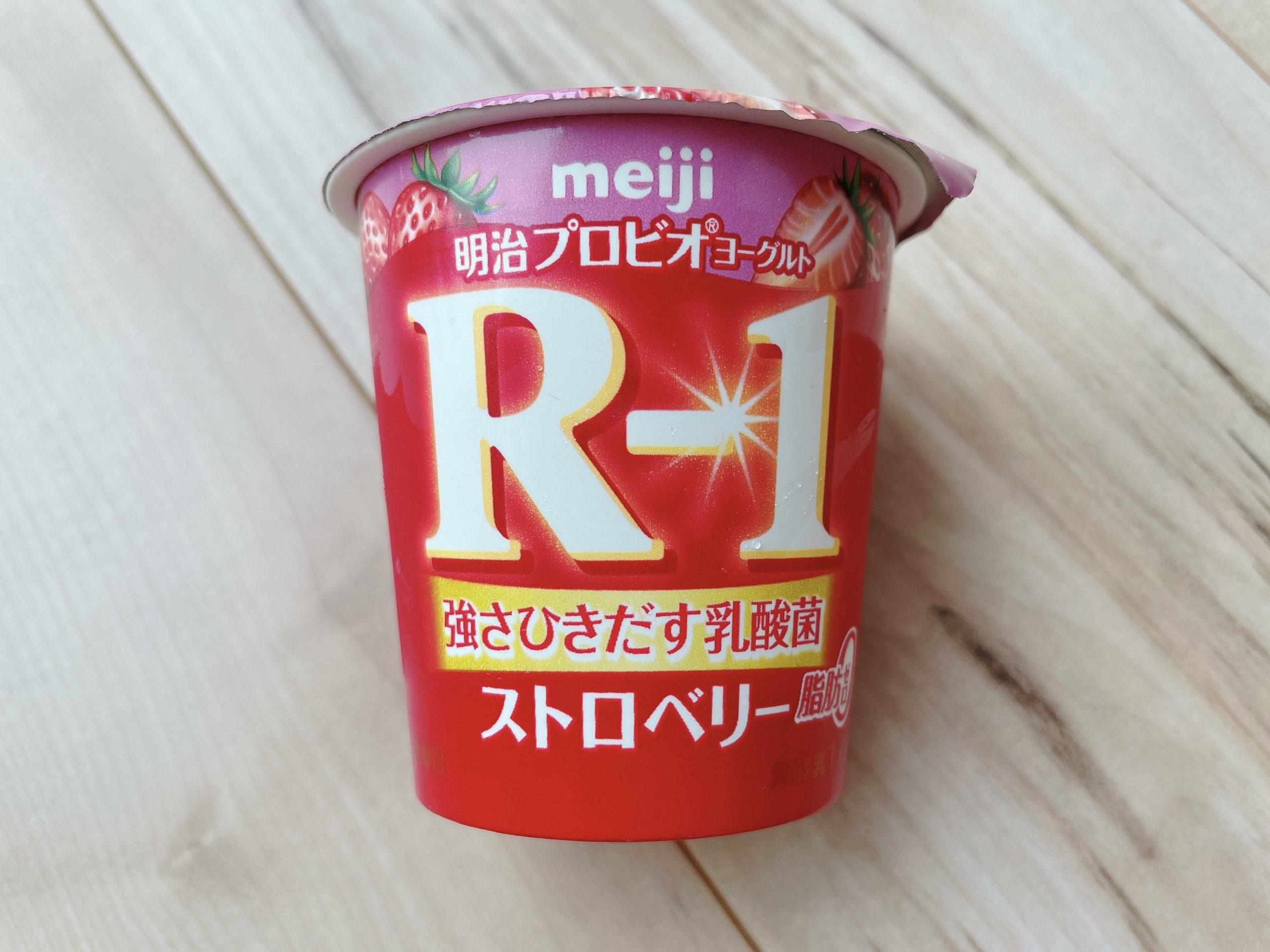 R-1ストロベリー脂肪0は、かなり甘い