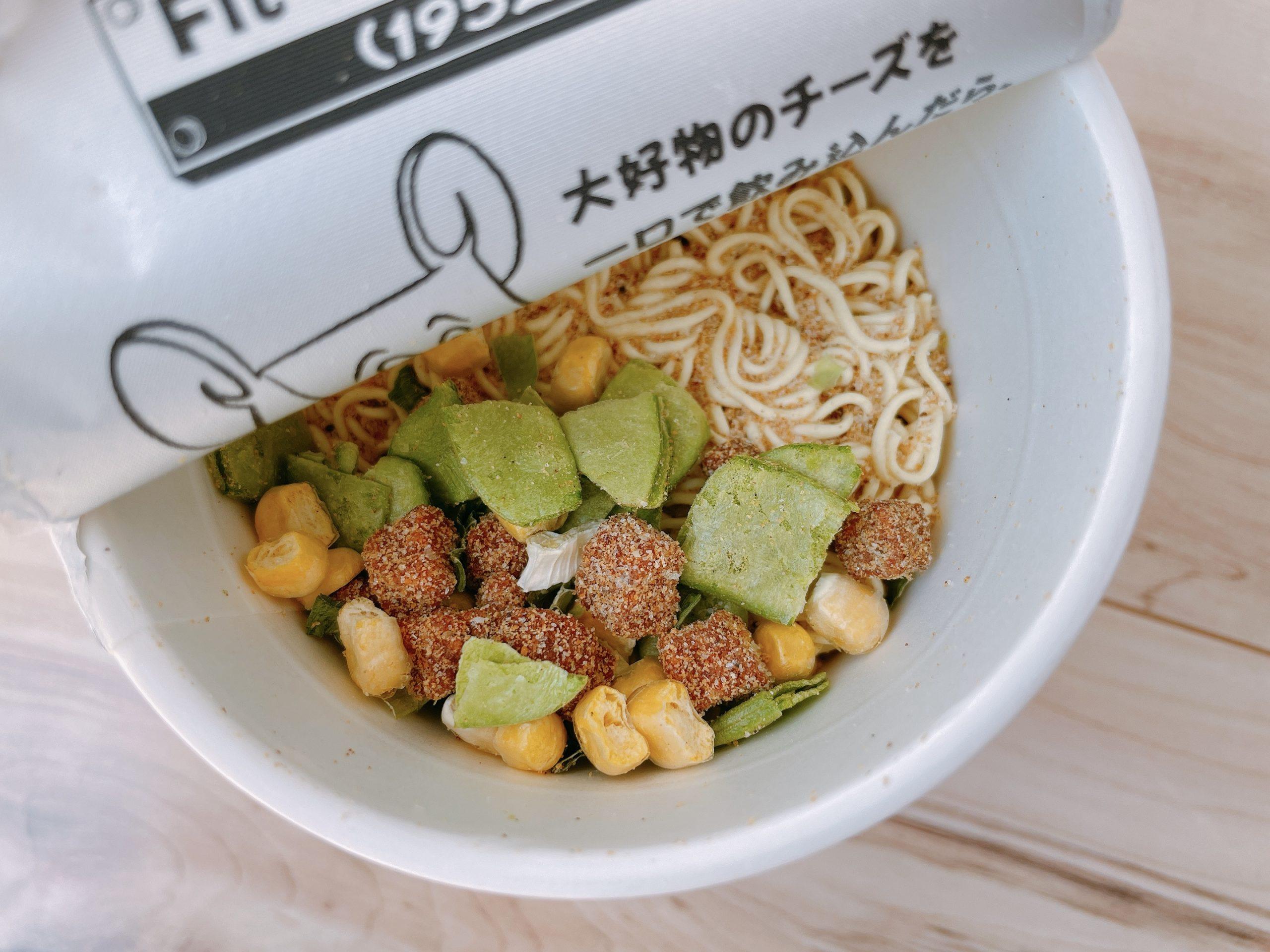 サッポロ一番カップスター味噌開封