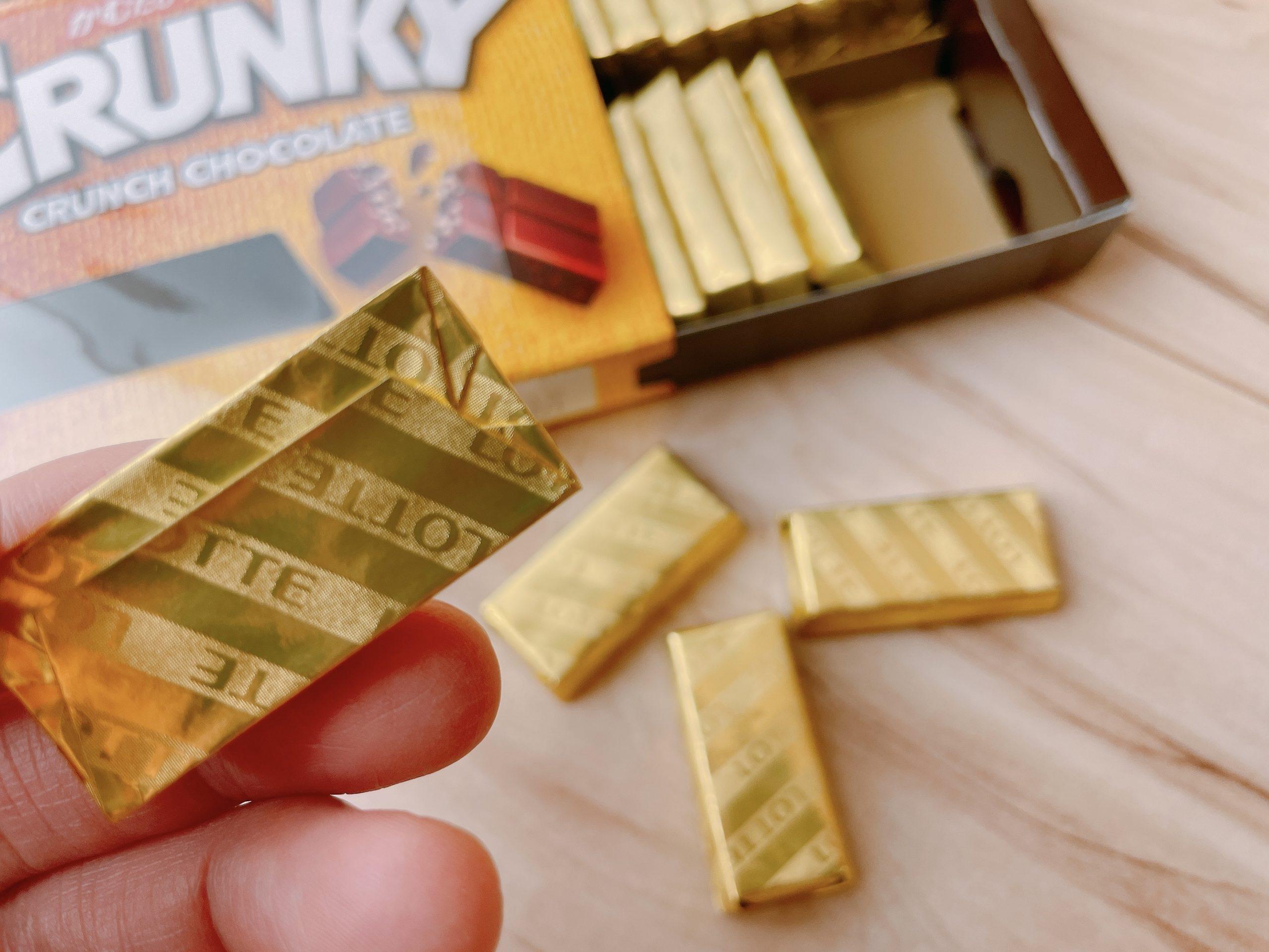 クランキーチョコレートエクセレントのゴールド裏