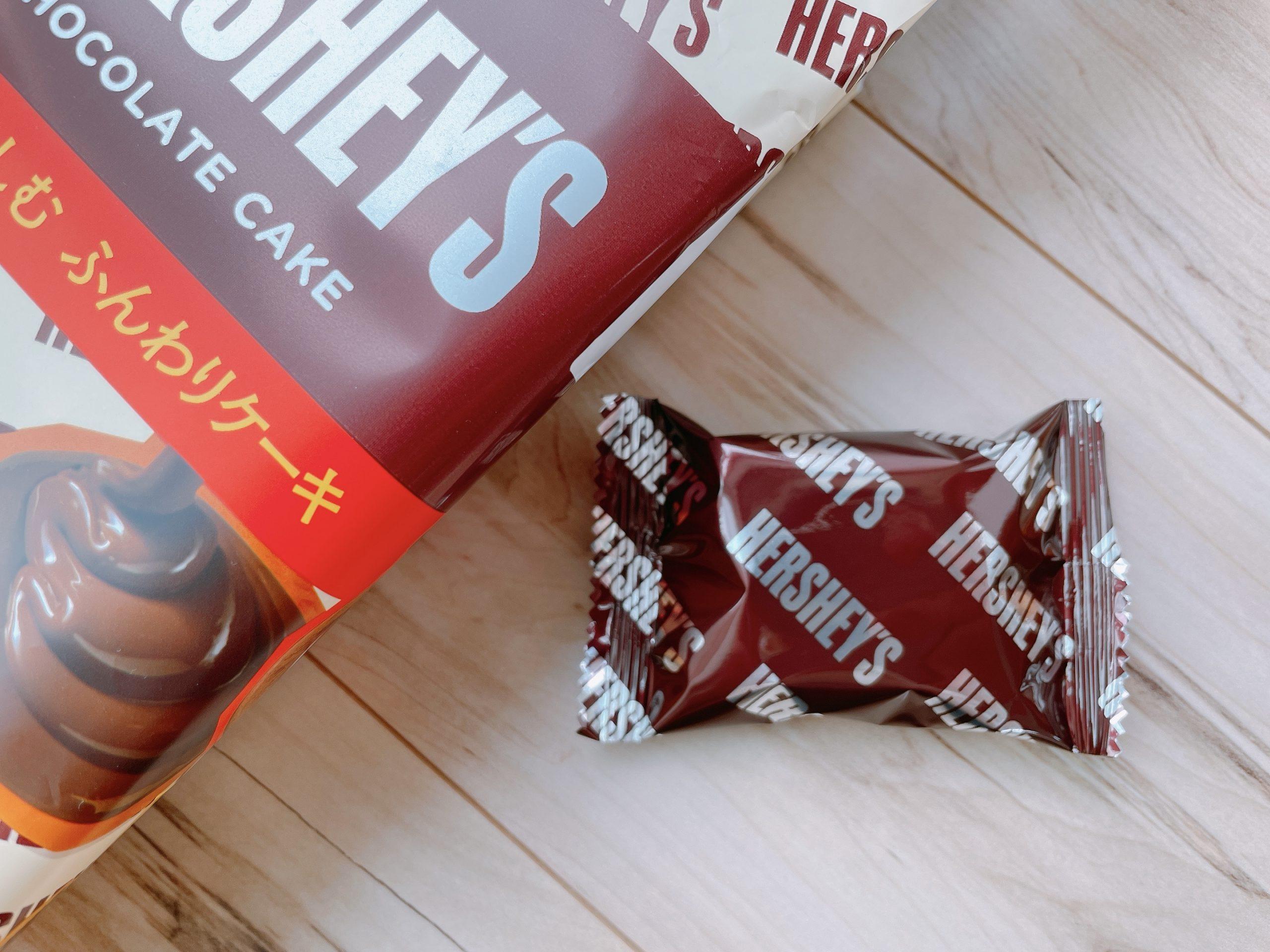 ハーシーチョコケーキの個包装デザイン