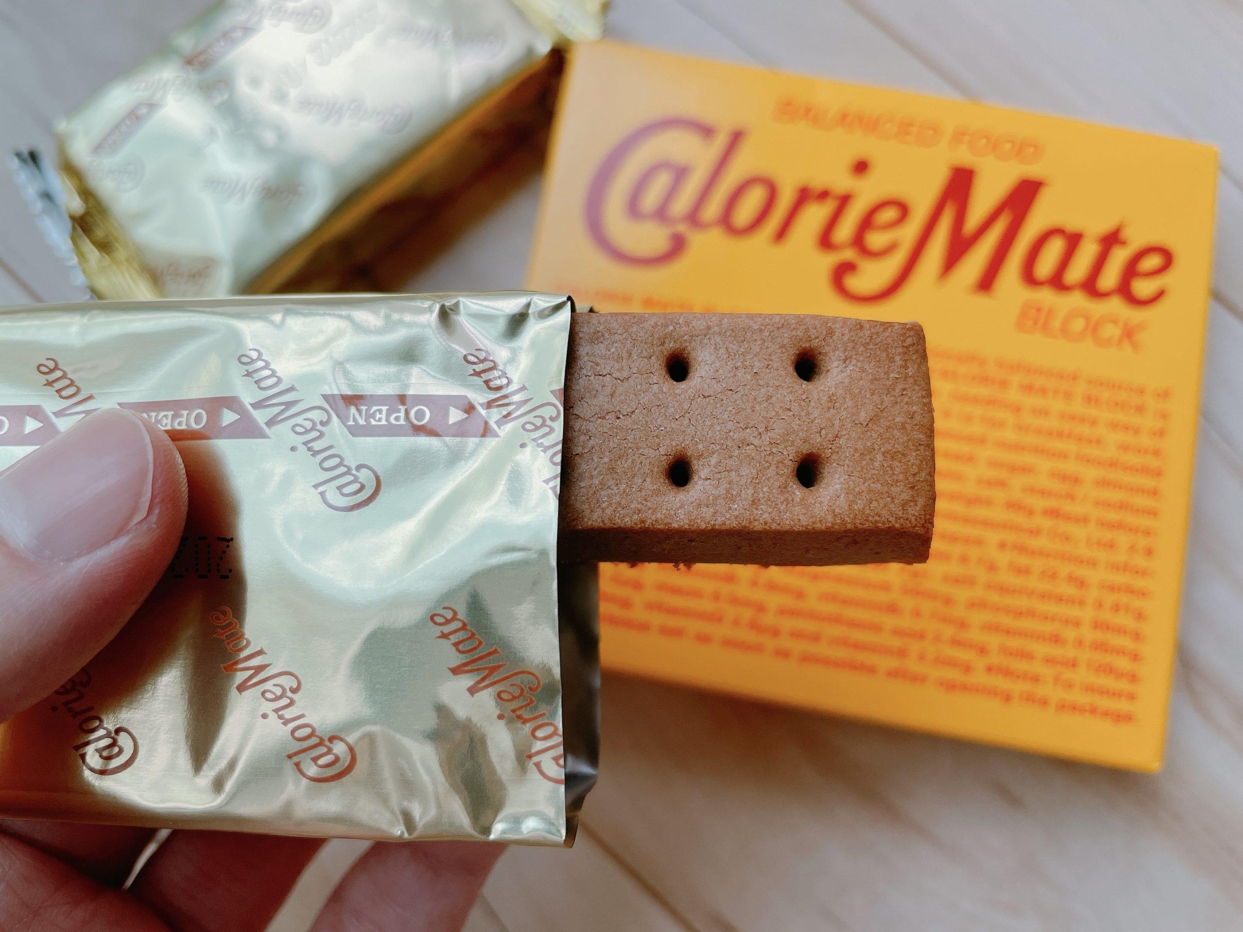 カロリーメイト ブロック チョコレート味の香りが好きです