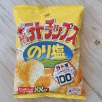 ポテトチップス<のり塩>パッケージ